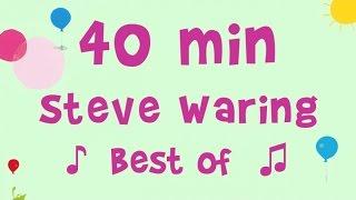 Steve Waring - 40 min de musique - 12 chansons incontournables