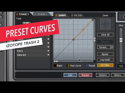 iZotope Trash 2: Working with Preset Curves | Music Production | Sound Design | Berklee Online