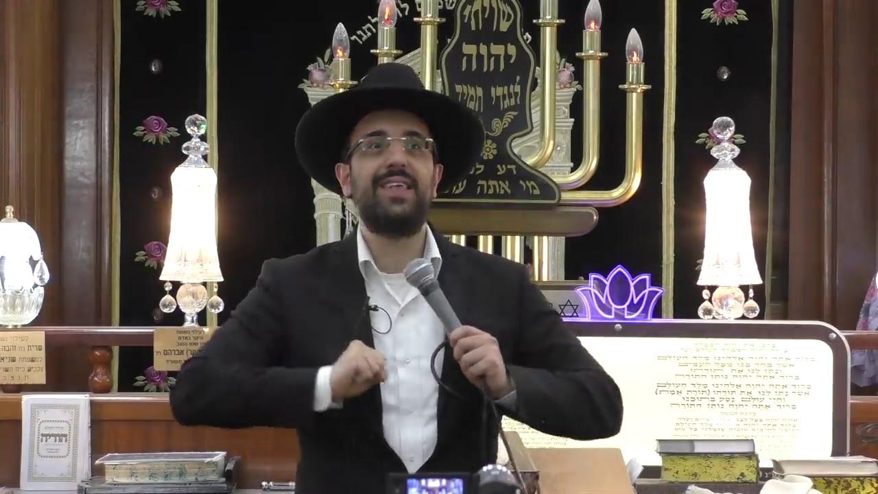 """הרב מאיר אליהו שליט""""א - איך לגדול בתורה רשב""""י והזוהר הקדוש - רמלה - בהר תשע""""ט"""