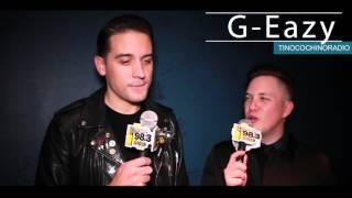 G-Eazy talks Phoenix support, love for Kehlani and more!