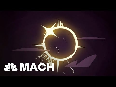 The Amazing Cosmic Coincidence That Makes Total Solar Eclipses Possible | Mach | NBC News