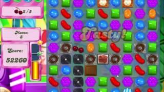 Candy Crush Saga Level 422 - Bring Ingredients Down - Hard Level