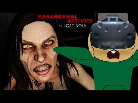 CHIPMUNKS SHOULDN'T PLAY VR HORROR GAMES | Paranormal Activity: The Lost Soul