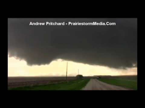 May 22 2010 South Dakota Dramatic Supercell Maturation and Tornadogenesis Time Lapse