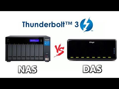 Thunderbolt 3 - DAS Vs NAS RAID Storage