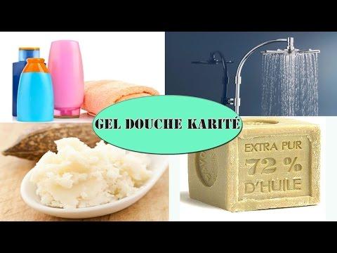 Gel douche nourissant au beurre de karité facile DIY