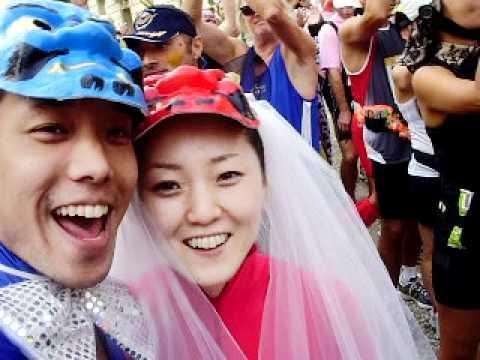 20110910メドックマラソンスタート.AVI