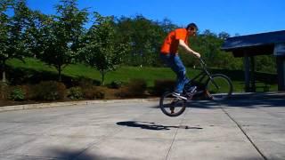 super slow motion bunny hop barspin