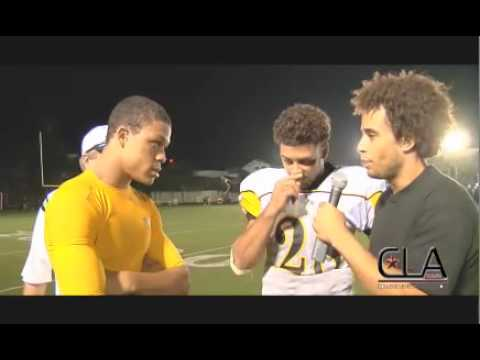 CollegeLevelAthletes.com | Dillon Baxter & Raymond Herring | Exclusive HS Football Post Game Itne
