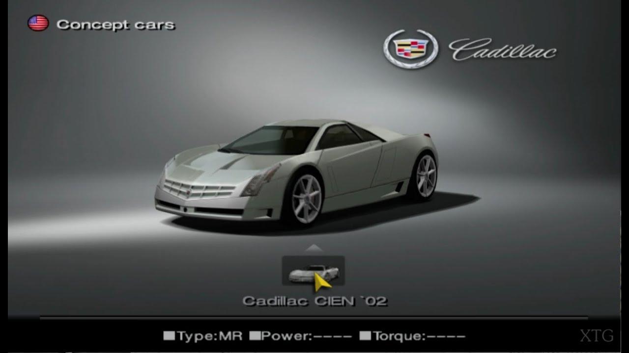 Gran Turismo 4 Cadillac Car List Hd Ps2 Gameplay Youtube