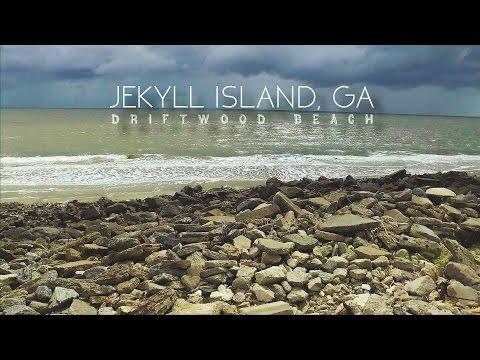 Driftwood Beach Drone Aerial Footage | Jekyll Island, GA