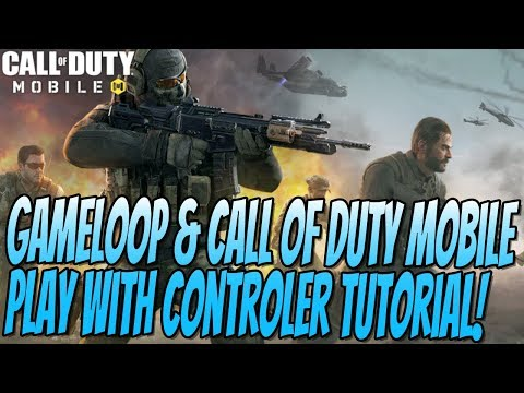 How To Use A Controller In Gameloop and Call Of Duty Mobile Tutorial | Gameloop Key Mapping