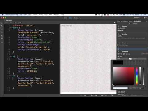 Developing CSS Rules For Websites