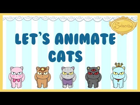 Let's Animate- Dancing Cats