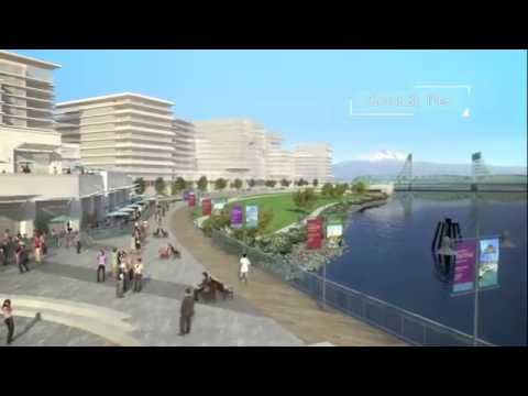 The Waterfront At Vancouver, Washington, USA (Updated)