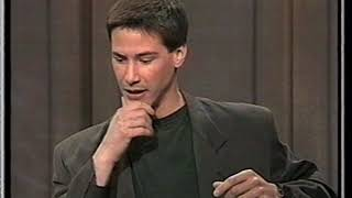 Keanu Reeves interviewed on Letterman, 1994