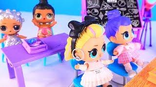 Куклы Лол Мультик! Сюрпризы Лол из Будущего по Китайски Lol Surprise Doll Видео для детей