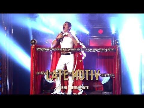 "LATE MOTIV - Berto Romero ""Freddie Mercury is back""  LateMotiv464"