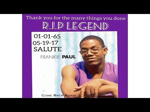 Legendary Icon Reggae Singer Frankie Paul Live Show (R.I.P)