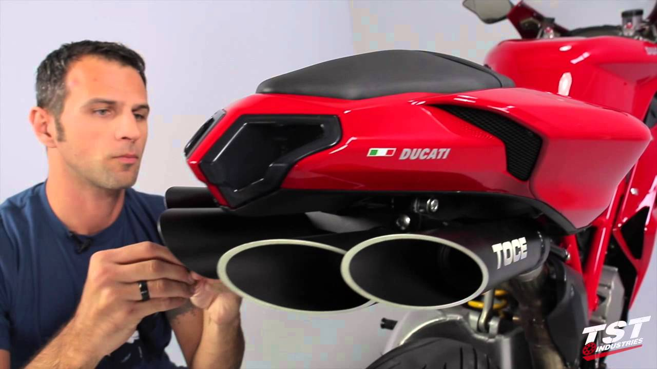 How To Install Ducati 848 Toce Exhaust Diy By