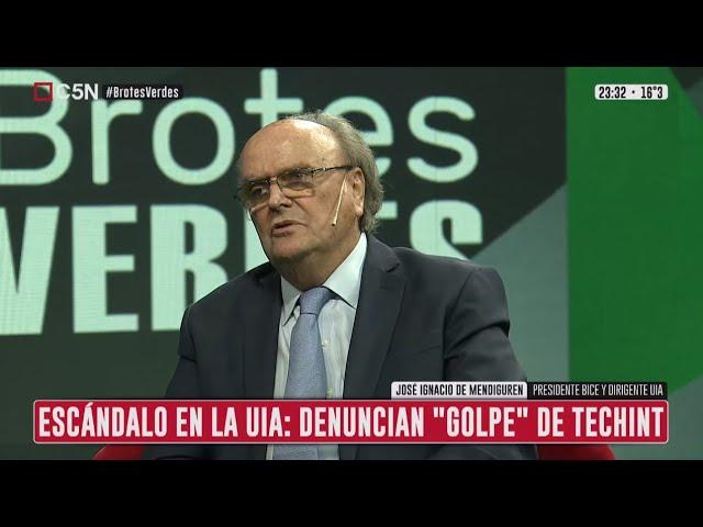 """Denuncian """"golpe"""" de Techint en la UIA: Habla José Ignacio de Mendiguren"""