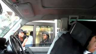 Jamaican Drive Thru Invisible Driver Prank