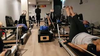 Toning Arms and Abs in Pilates Reformer Soulful Fitness Lane Cove