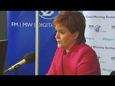 Radio Car Crash - Nicola Sturgeon is forced to apologise for the SNP's management of the NHS.