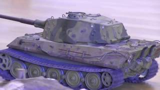 Radio Control: RC German Tiger Tank from Hobby Fair 2017 - Jevnaker Norway - RC Adventures