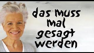das muss jetzt mal gesagt werden - Greta-Silver.de
