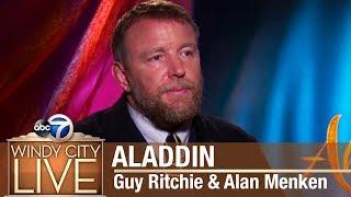 'Aladdin' director Guy Ritchie, composer Alan Menken discuss new movie