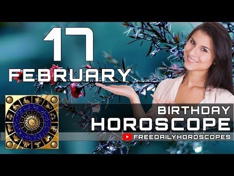 February 17 - Birthday Horoscope Personality