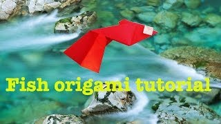 Origami Guppy (fish) Tutorial