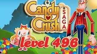 Candy Crush Saga Level 496 - ★★ - 171,400
