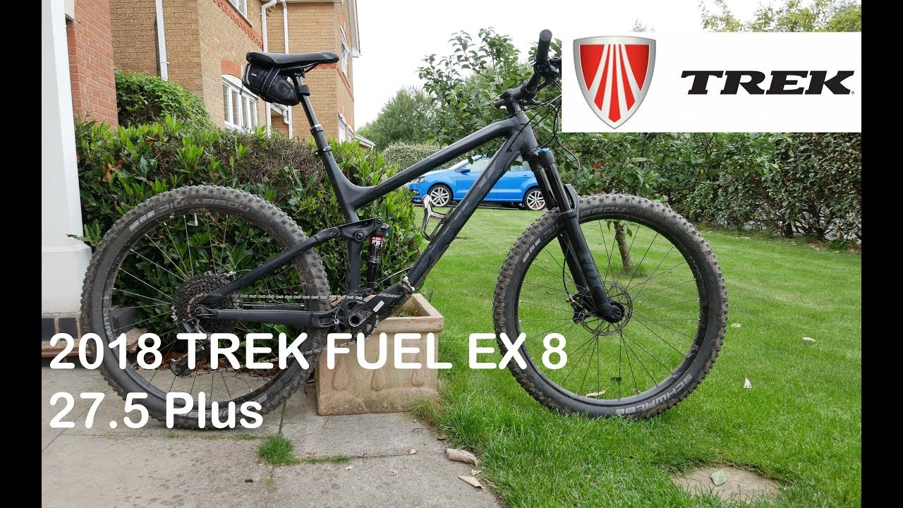 c9d9126ca17 Trek Fuel EX 8 27.5 Plus REVIEW and TEST RIDE - YouTube