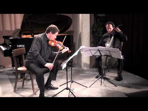 Karlheinz Essl: rapprochement for violin and cello