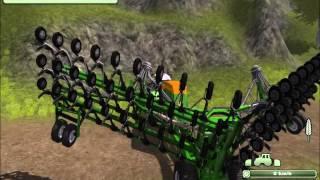 Sianie zboża w Farming Simulator 2013-Świat Rolnictwa