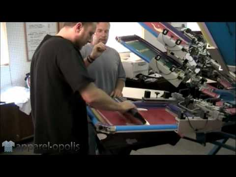 High Density Screen Printing Technique