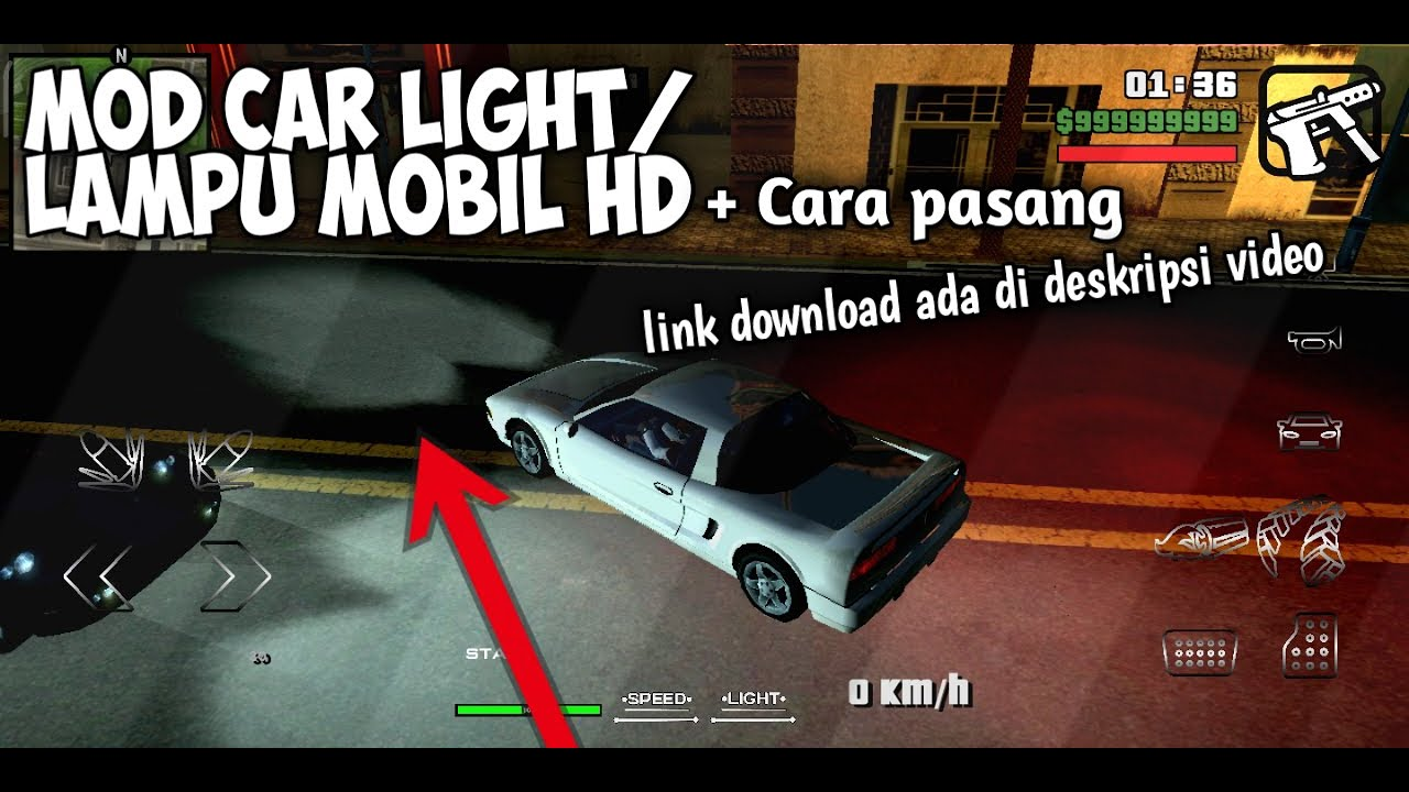 100 Mod Lampu Mobil Gta Sa Pc Gratis Terbaru