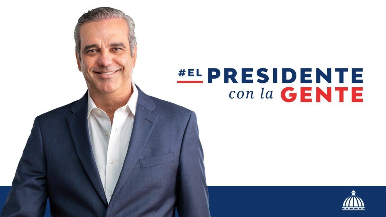 El Presidente con la gente
