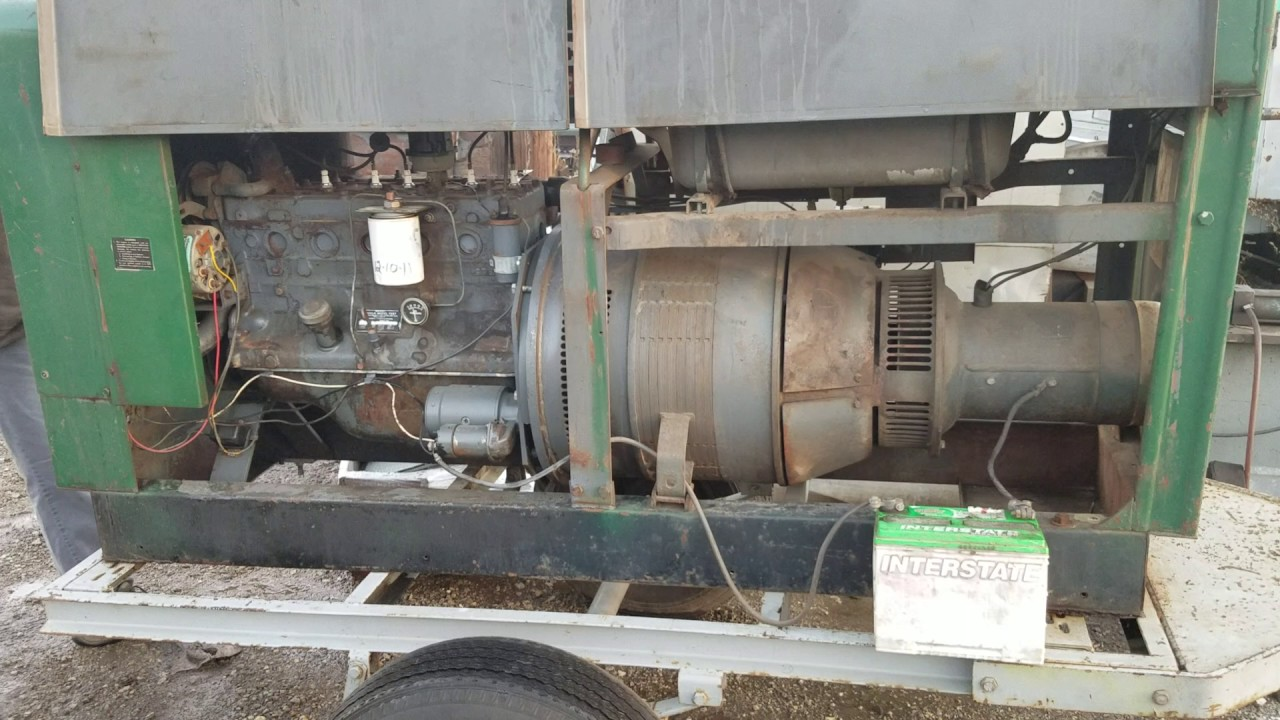 Lincoln sae 300 welder with continental f227 6 cylinder
