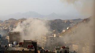 مفوضية حقوق الإنسان تدين القصف الحوثي على تعز