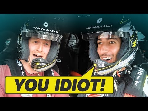 I Never Want To Get In A Car With Daniel Ricciardo Again