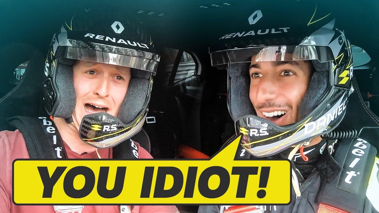 I Never Want To Get In A Car With Daniel Ricciardo Again