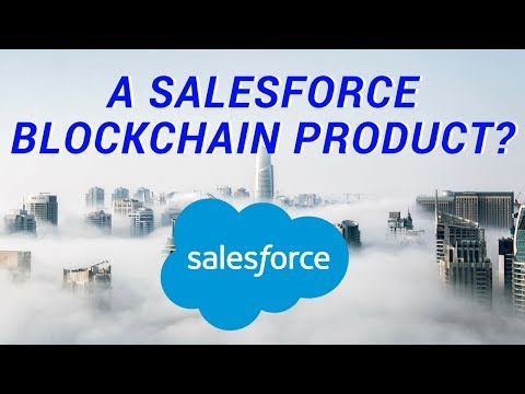 SALESFORCE PLANNING A BLOCKCHAIN PRODUCT | NANO LOOKS TO COVER BITGRAIL HACK