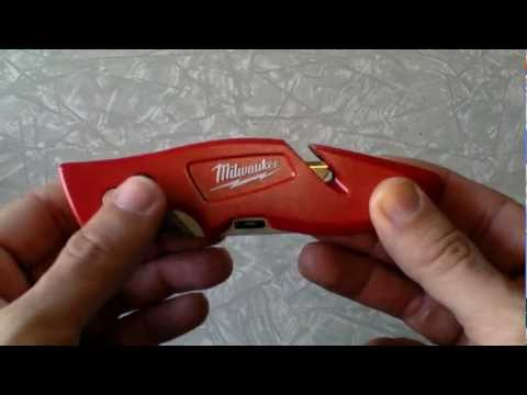 Milwaukee Fastback Flip Open Utility Knife  Review