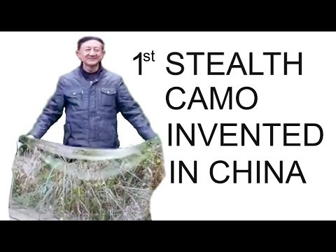 Stealth Camo  Invention Revealed in China