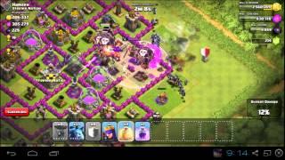 Clash of clans-atak balonami