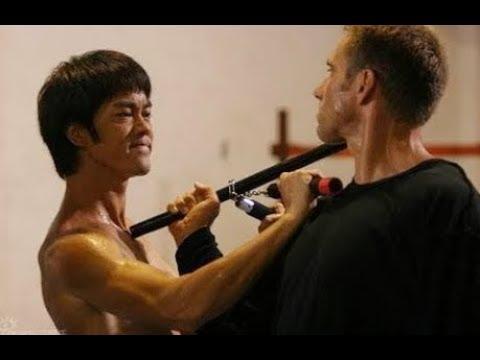 Mestre Artes Marciais - Bruce Lee Vs Mestre Karatê - Melhor Cena De Luta HD