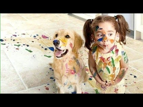 OMG, this is SO FUNNY! Most HILARIOUS MESS & TROUBLE MAKING KIDS! - TRY NOT TO LAUGH 2019